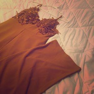 Burnt orange / Mustard yellow jumper